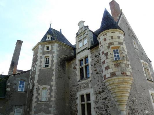 Ancien presbyt re saint aubin de luign 49 49190 - La petite cheminee saint aubin ...
