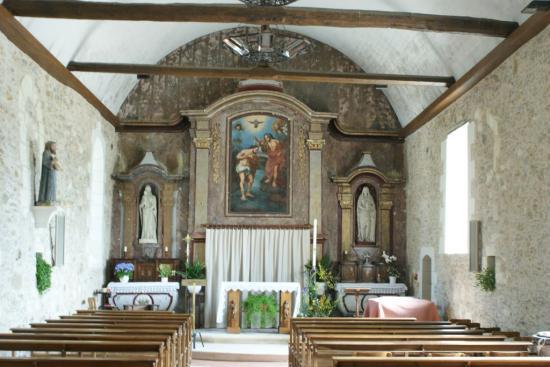 eglise saint jean baptiste saint jean de lini res 49. Black Bedroom Furniture Sets. Home Design Ideas
