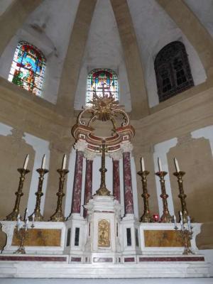 Eglise saint pierre s liens de grans int rieur ext rieur grans 13 13450 - Cinema salon de provence arcade ...